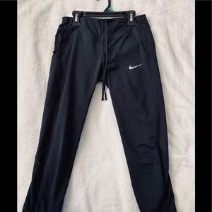 Nike capris with mesh on the back